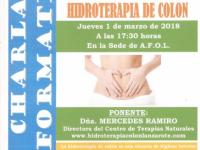 Charla La salud esta en el intestino. HIDROTERAPIA DE COLON 001