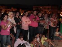 Día Mundial contra el Cáncer de Mama en el Castillo de San Gabriel, (20)