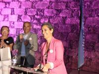 Día Mundial contra el Cáncer de Mama en el Castillo de San Gabriel, (22)