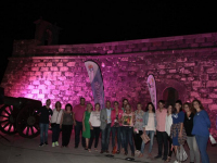 Día Mundial contra el Cáncer de Mama en el Castillo de San Gabriel, (23)