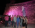 Día Mundial contra el Cáncer de Mama en el Castillo de San Gabriel, (25)