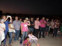Día Mundial contra el Cáncer de Mama en el Castillo de San Gabriel, (9)