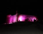 Día Mundial contra el Cáncer de Mama en el Castillo de San Gabriel, (2)