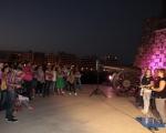 Día Mundial contra el Cáncer de Mama en el Castillo de San Gabriel, (8)
